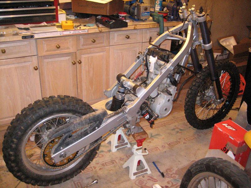 Bmw F650gsr Rallye Project Bike Adventure Rider
